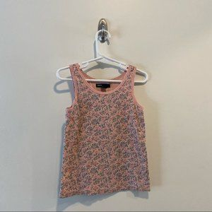 Gap Floral Tank Top in size small (6-7)